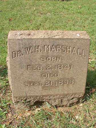 MARSHALL, DR, W H - Pulaski County, Arkansas | W H MARSHALL, DR - Arkansas Gravestone Photos