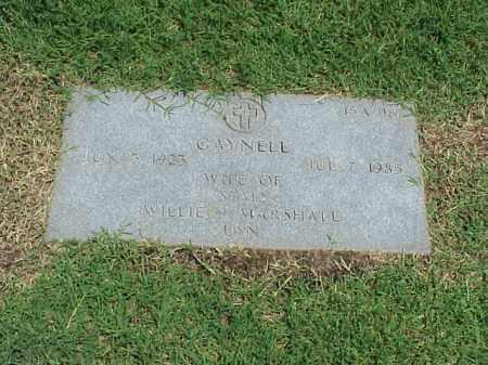 MARSHALL, GAYNELL - Pulaski County, Arkansas | GAYNELL MARSHALL - Arkansas Gravestone Photos