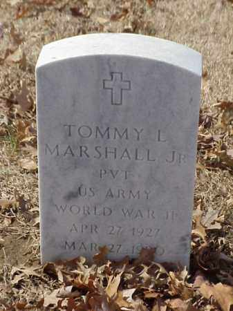 MARSHALL, JR (VETERAN WWII), TOMMY L - Pulaski County, Arkansas | TOMMY L MARSHALL, JR (VETERAN WWII) - Arkansas Gravestone Photos