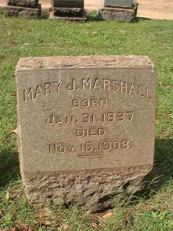 MARSHALL, MARY J - Pulaski County, Arkansas | MARY J MARSHALL - Arkansas Gravestone Photos