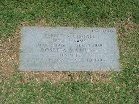 MARSHALL, ROSETTA - Pulaski County, Arkansas | ROSETTA MARSHALL - Arkansas Gravestone Photos