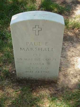 MARSHALL (VETERAN KOR), PAUL E - Pulaski County, Arkansas | PAUL E MARSHALL (VETERAN KOR) - Arkansas Gravestone Photos