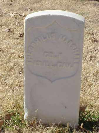 MARSHALL (VETERAN UNION), THEOPHILUS - Pulaski County, Arkansas | THEOPHILUS MARSHALL (VETERAN UNION) - Arkansas Gravestone Photos