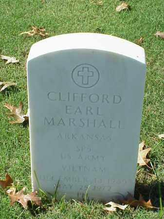 MARSHALL (VETERAN VIET), CLIFFORD EARL - Pulaski County, Arkansas | CLIFFORD EARL MARSHALL (VETERAN VIET) - Arkansas Gravestone Photos