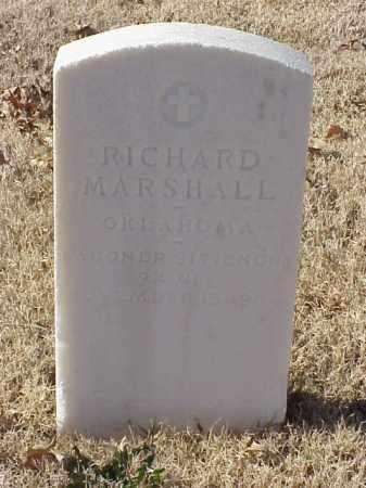 MARSHALL (VETERAN WWI), RICHARD - Pulaski County, Arkansas | RICHARD MARSHALL (VETERAN WWI) - Arkansas Gravestone Photos