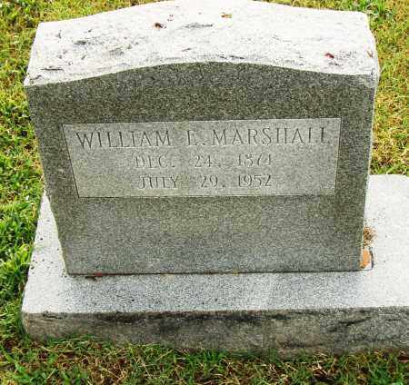 MARSHALL, WILLIAM E. - Pulaski County, Arkansas | WILLIAM E. MARSHALL - Arkansas Gravestone Photos