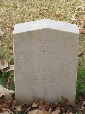 MARSHELL (VETERAN CSA), THOMAS J - Pulaski County, Arkansas | THOMAS J MARSHELL (VETERAN CSA) - Arkansas Gravestone Photos
