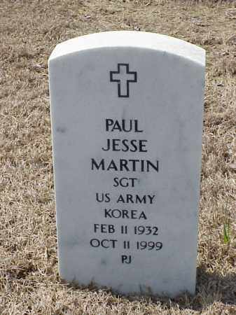 MARTIN  (VETERAN KOR), PAUL JESSE - Pulaski County, Arkansas | PAUL JESSE MARTIN  (VETERAN KOR) - Arkansas Gravestone Photos