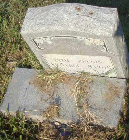 PAYTON MARTIN, DIXIE - Pulaski County, Arkansas | DIXIE PAYTON MARTIN - Arkansas Gravestone Photos