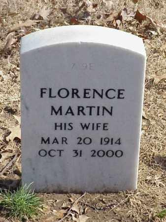 MARTIN, FLORENCE - Pulaski County, Arkansas | FLORENCE MARTIN - Arkansas Gravestone Photos