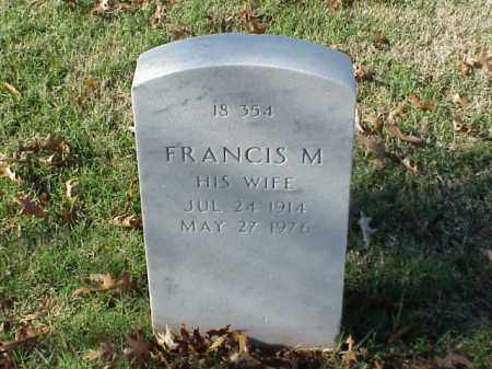 MARTIN, FRANCIS M. - Pulaski County, Arkansas | FRANCIS M. MARTIN - Arkansas Gravestone Photos