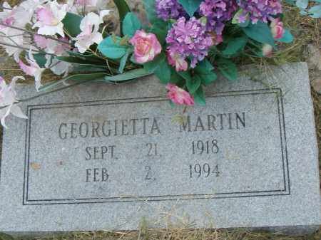 MARTIN, GEORGIETTA - Pulaski County, Arkansas | GEORGIETTA MARTIN - Arkansas Gravestone Photos