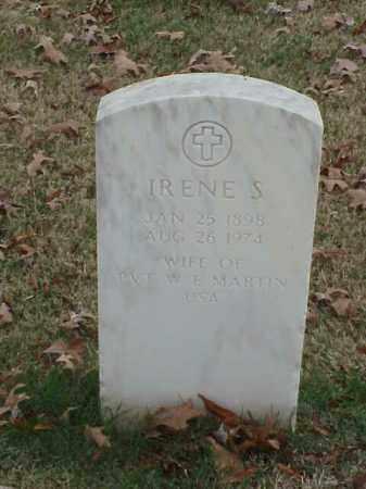MARTIN, IRENE S. - Pulaski County, Arkansas | IRENE S. MARTIN - Arkansas Gravestone Photos