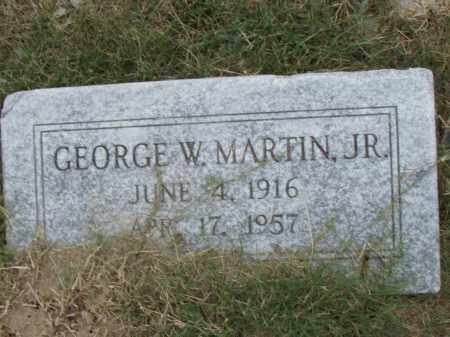 MARTIN, JR., GEORGE W. - Pulaski County, Arkansas | GEORGE W. MARTIN, JR. - Arkansas Gravestone Photos