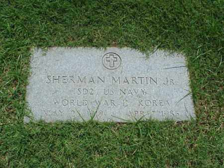 MARTIN, JR (VETERAN 2 WARS), SHERMAN - Pulaski County, Arkansas | SHERMAN MARTIN, JR (VETERAN 2 WARS) - Arkansas Gravestone Photos