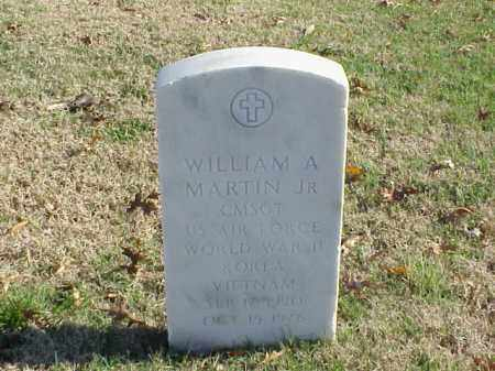 MARTIN, JR (VETERAN 3 WARS), WILLIAM A - Pulaski County, Arkansas | WILLIAM A MARTIN, JR (VETERAN 3 WARS) - Arkansas Gravestone Photos