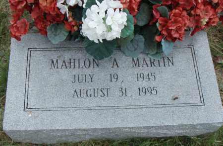MARTIN, MAHLON A. - Pulaski County, Arkansas | MAHLON A. MARTIN - Arkansas Gravestone Photos