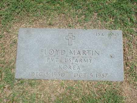 MARTIN (VETERAN KOR), FLOYD - Pulaski County, Arkansas | FLOYD MARTIN (VETERAN KOR) - Arkansas Gravestone Photos