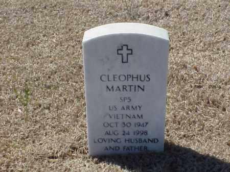 MARTIN (VETERAN VIET), CLEOPHUS - Pulaski County, Arkansas | CLEOPHUS MARTIN (VETERAN VIET) - Arkansas Gravestone Photos