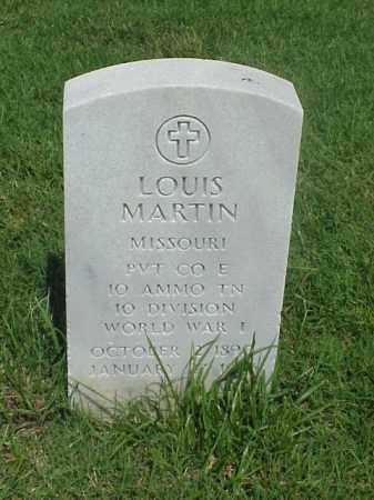 MARTIN (VETERAN WWI), LOUIS - Pulaski County, Arkansas | LOUIS MARTIN (VETERAN WWI) - Arkansas Gravestone Photos