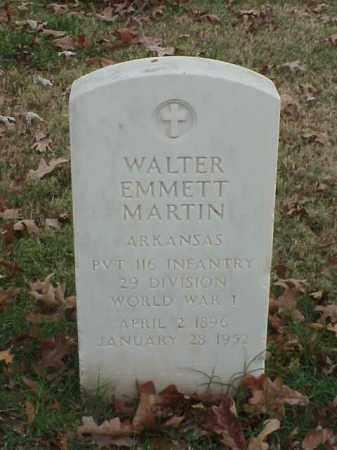 MARTIN (VETERAN WWI), WALTER EMMETT - Pulaski County, Arkansas | WALTER EMMETT MARTIN (VETERAN WWI) - Arkansas Gravestone Photos