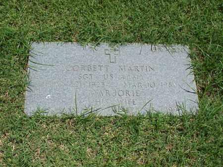 MARTIN (VETERAN WWII), CORBETT - Pulaski County, Arkansas | CORBETT MARTIN (VETERAN WWII) - Arkansas Gravestone Photos