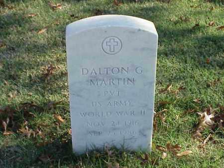 MARTIN (VETERAN WWII), DALTON G - Pulaski County, Arkansas | DALTON G MARTIN (VETERAN WWII) - Arkansas Gravestone Photos