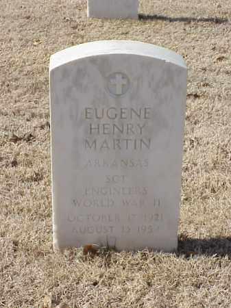MARTIN (VETERAN WWII), EUGENE HENRY - Pulaski County, Arkansas | EUGENE HENRY MARTIN (VETERAN WWII) - Arkansas Gravestone Photos