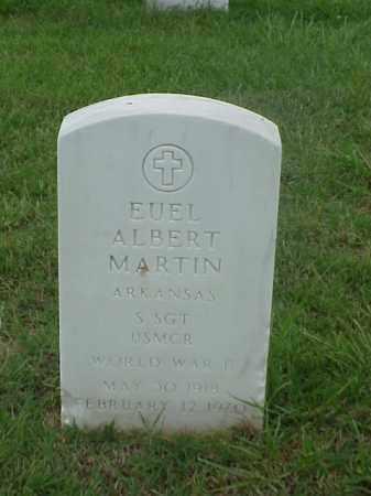 MARTIN (VETERAN WWII), EUEL ALBERT - Pulaski County, Arkansas | EUEL ALBERT MARTIN (VETERAN WWII) - Arkansas Gravestone Photos