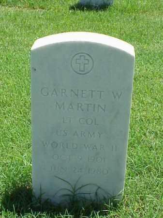MARTIN (VETERAN WWII), GARNETT W - Pulaski County, Arkansas | GARNETT W MARTIN (VETERAN WWII) - Arkansas Gravestone Photos
