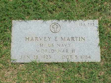 MARTIN (VETERAN WWII), HARVEY E - Pulaski County, Arkansas | HARVEY E MARTIN (VETERAN WWII) - Arkansas Gravestone Photos