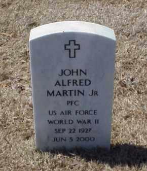 MARTIN JR (VETERAN WWII), JOHN ALFORD - Pulaski County, Arkansas | JOHN ALFORD MARTIN JR (VETERAN WWII) - Arkansas Gravestone Photos