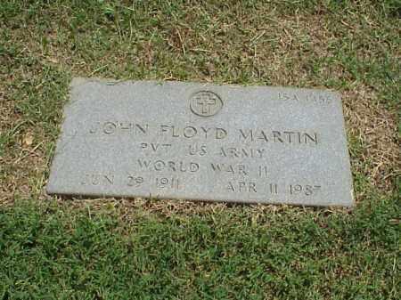 MARTIN (VETERAN WWII), JOHN FLOYD - Pulaski County, Arkansas | JOHN FLOYD MARTIN (VETERAN WWII) - Arkansas Gravestone Photos