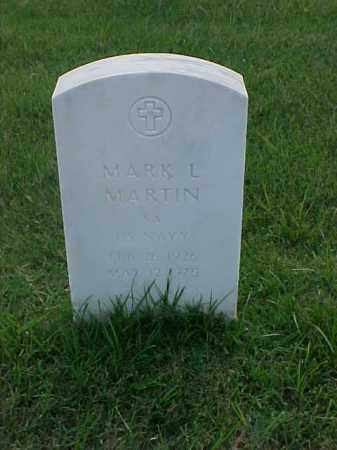 MARTIN (VETERAN WWII), MARK L - Pulaski County, Arkansas | MARK L MARTIN (VETERAN WWII) - Arkansas Gravestone Photos