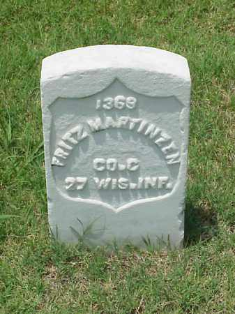 MARTINZEN (VETERAN UNION), FRITZ - Pulaski County, Arkansas | FRITZ MARTINZEN (VETERAN UNION) - Arkansas Gravestone Photos