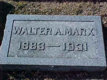 MARX, WALTER A - Pulaski County, Arkansas | WALTER A MARX - Arkansas Gravestone Photos