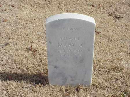 MASON, MARY A - Pulaski County, Arkansas | MARY A MASON - Arkansas Gravestone Photos