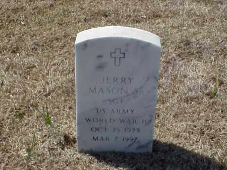 MASON, SR (VETERAN WWII), JERRY - Pulaski County, Arkansas | JERRY MASON, SR (VETERAN WWII) - Arkansas Gravestone Photos