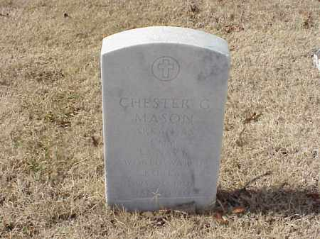 MASON (VETERAN 2 WARS), CHESTER G - Pulaski County, Arkansas | CHESTER G MASON (VETERAN 2 WARS) - Arkansas Gravestone Photos