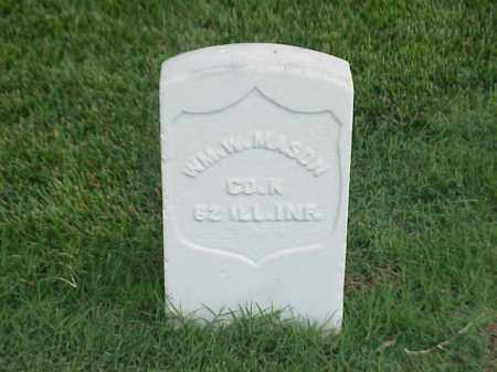 MASON (VETERAN UNION), WILLIAM W - Pulaski County, Arkansas | WILLIAM W MASON (VETERAN UNION) - Arkansas Gravestone Photos