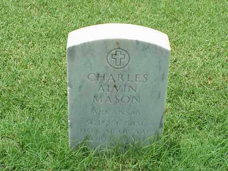 MASON (VETERAN WWII), CHARLES ALVIN - Pulaski County, Arkansas | CHARLES ALVIN MASON (VETERAN WWII) - Arkansas Gravestone Photos