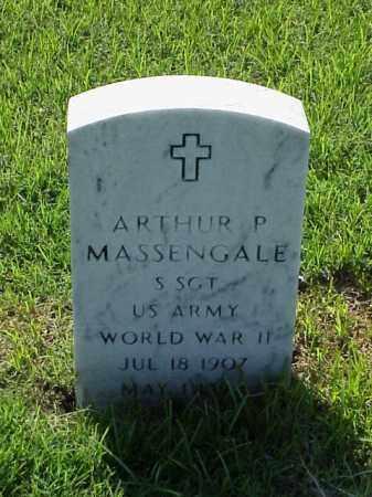 MASSENGALE (VETERAN WWII), ARTHUR P - Pulaski County, Arkansas | ARTHUR P MASSENGALE (VETERAN WWII) - Arkansas Gravestone Photos