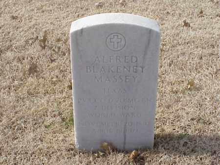 MASSEY (VETERAN WWII), ALFRED BLAKENEY - Pulaski County, Arkansas | ALFRED BLAKENEY MASSEY (VETERAN WWII) - Arkansas Gravestone Photos