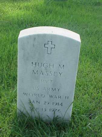 MASSEY (VETERAN WWII), HUGH M - Pulaski County, Arkansas | HUGH M MASSEY (VETERAN WWII) - Arkansas Gravestone Photos