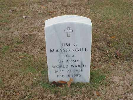 MASSONGILL (VETERAN WWII), JIM G - Pulaski County, Arkansas | JIM G MASSONGILL (VETERAN WWII) - Arkansas Gravestone Photos