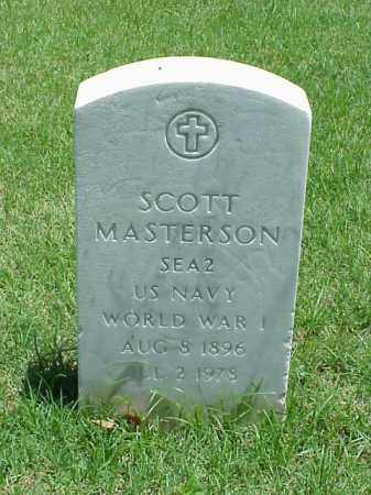 MASTERSON (VETERAN WWI), SCOTT - Pulaski County, Arkansas | SCOTT MASTERSON (VETERAN WWI) - Arkansas Gravestone Photos