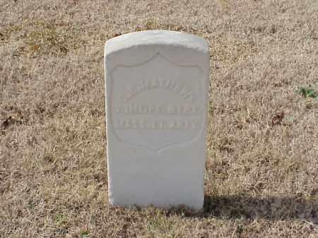 MATHEWS (VETERAN UNION), O E - Pulaski County, Arkansas | O E MATHEWS (VETERAN UNION) - Arkansas Gravestone Photos