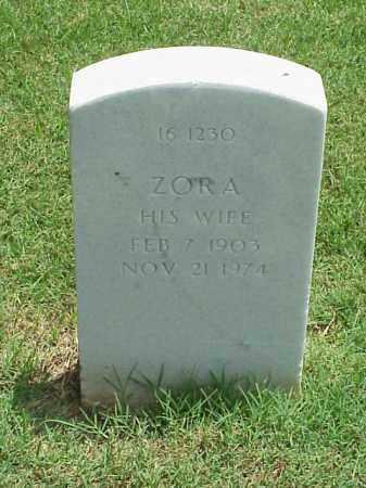 MATHEWS, ZORA - Pulaski County, Arkansas   ZORA MATHEWS - Arkansas Gravestone Photos