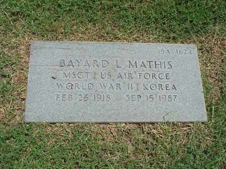 MATHIS (VETERAN 2 WARS), BAYARD L - Pulaski County, Arkansas | BAYARD L MATHIS (VETERAN 2 WARS) - Arkansas Gravestone Photos