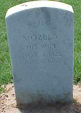 MATLOCK, MOZELA - Pulaski County, Arkansas | MOZELA MATLOCK - Arkansas Gravestone Photos